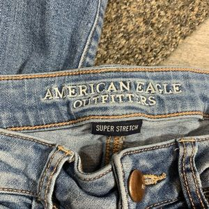 American Eagle Outfitters Jeans - {American Eagle} distressed patched jeggings